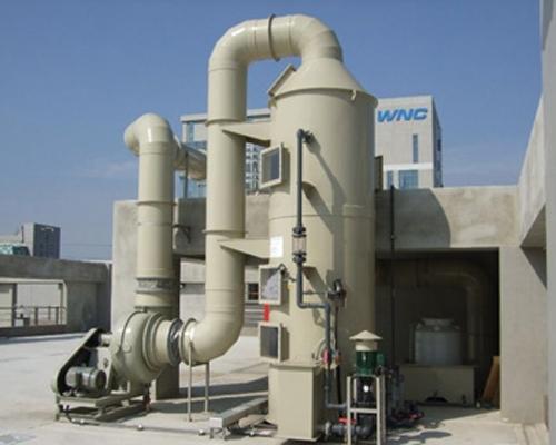 气体净化活性炭使用现场