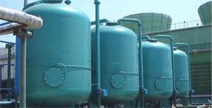 宝鸡热电厂循环水水处理现场