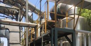西安食品厂活性炭使用现场